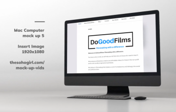 DoGoodFilms mock up