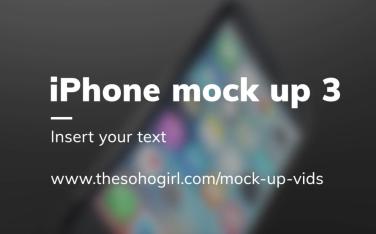 iPhone mockup 5