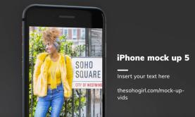 iPhone mockup 7