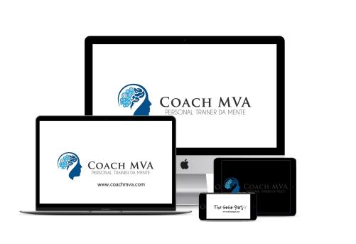 Coach MVA logo design