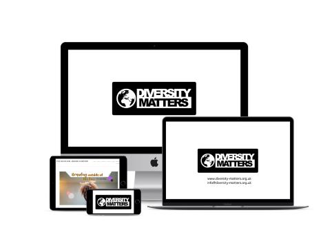 Diversity Matters logo design