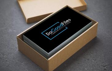 DoGoodFilms new logo invested black