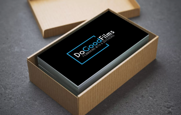 DoGoodFilms new logo invested black