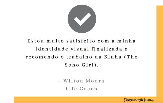 Wilton Moura tesimonial