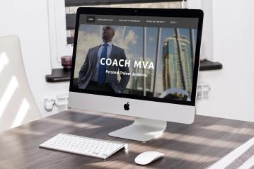 Coach MVA Website design