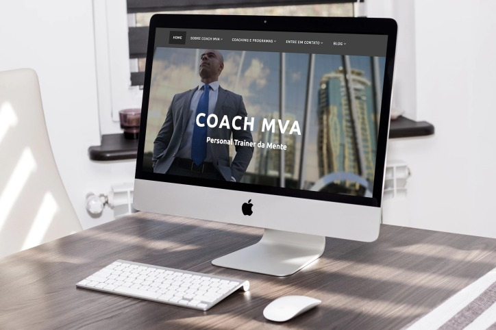 Coach MVA Website design