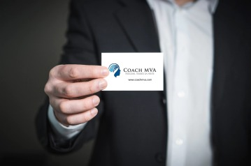 Coach MVA business Cards