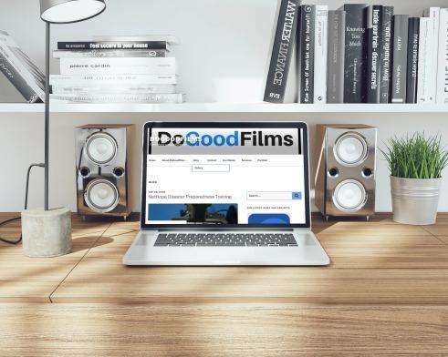 DoGoodFilms Blog page