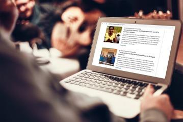 NetHope blog commission