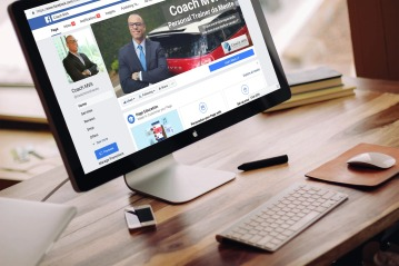 Coach MVA Facebook computer