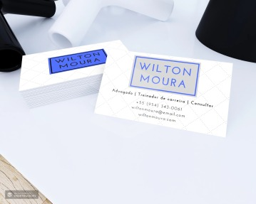 Wilton Moura business card sample