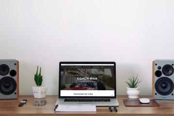 Coach MVA website iMac
