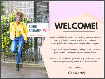 The Soho Girl Welcome PDF