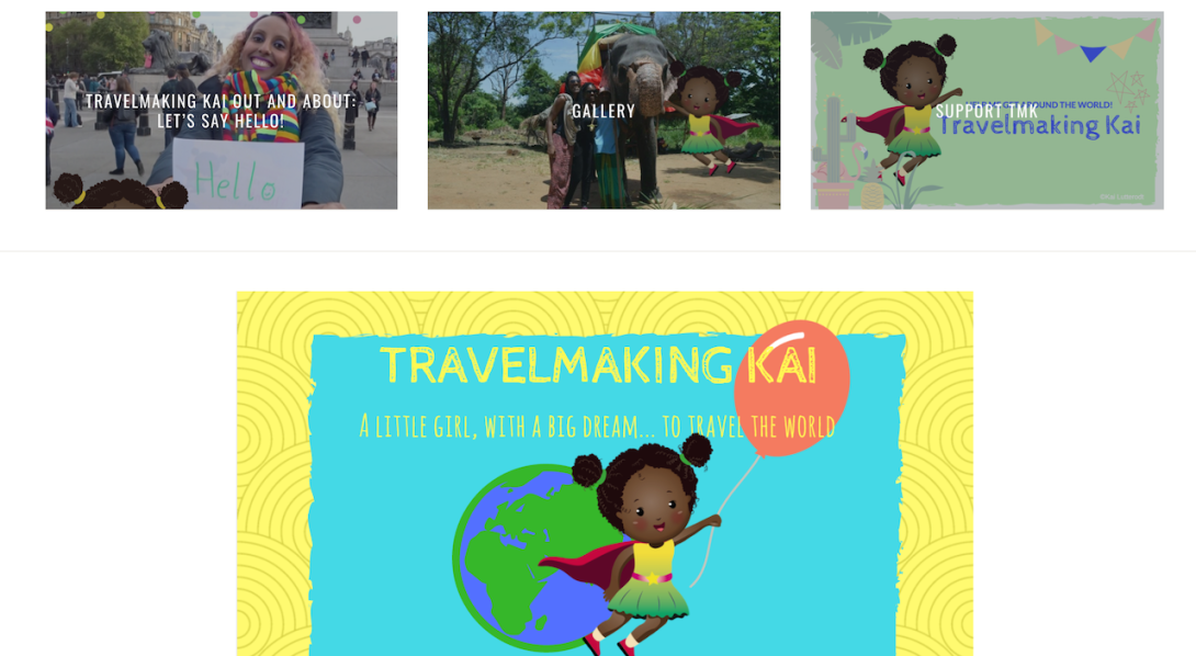 travelmaking kai website